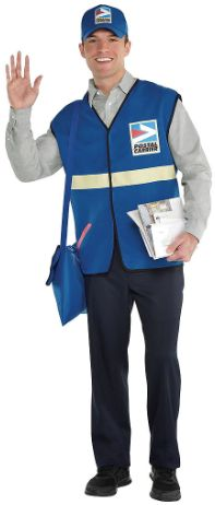 Mail Carrier Kit - Adult Standard