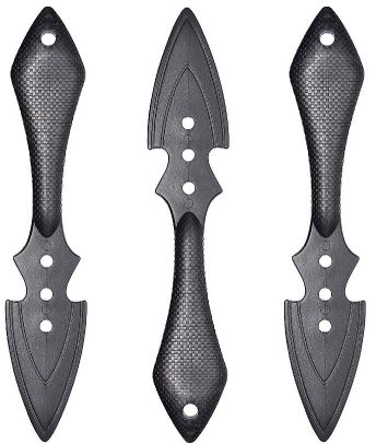 Ninja Throwing Knives, 3ct