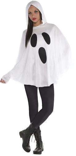Ghost Poncho - Adult