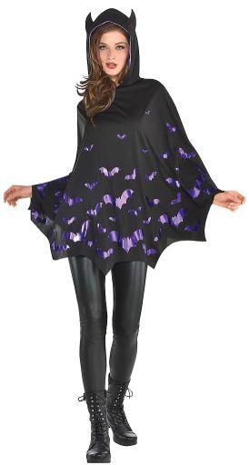 Bat Poncho - Adult