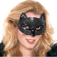 Black Fancy Cat Mask