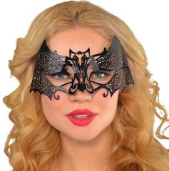 Black Filigree Mask
