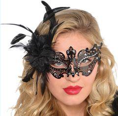 Filigree Gem Floral Mask
