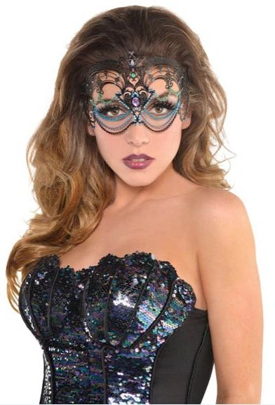 Sea Siren Filigree Mask