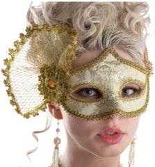 Gold Parisian Mask