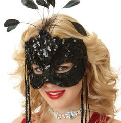 After Dark Feather Mask