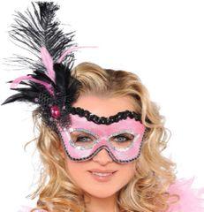 Flirty Feather Mask