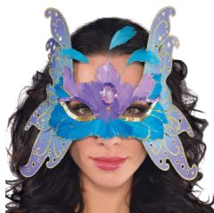 Alluring Butterfly Feather Mask
