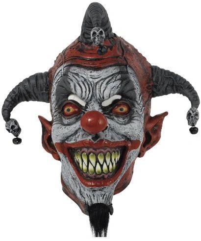 Killer Jester Full Head Mask