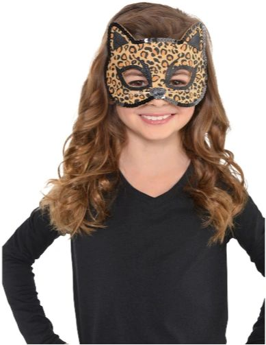 Leopard Felt Mask - Child