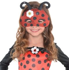 Bug Glitter Mask - Child