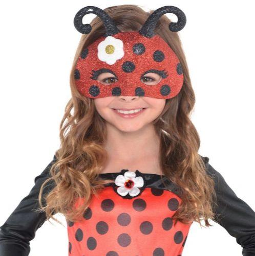 Bug Glitter Mask - Child