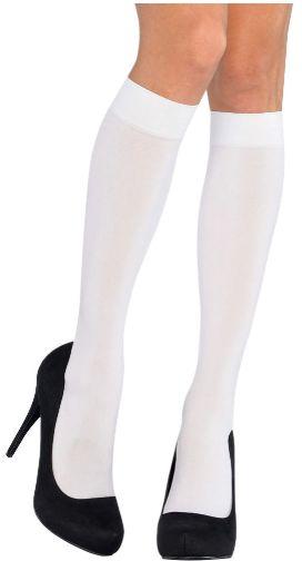 Geek Chic Adult White Knee-High Stockings