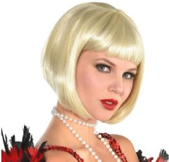 20s Flapper Blonde Wig