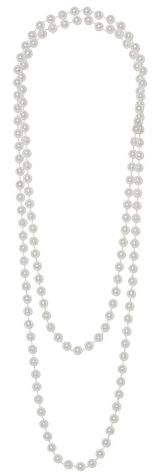 20s Faux Pearl Necklace