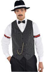 20s Gangster Vest - Adult Standard
