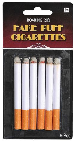 20s Fake Puff Cigarettes, 6ct