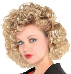 50s Grease Greaser Sandy Wig