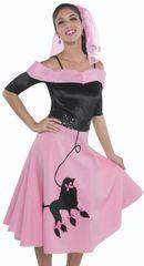 50s Poodle Skirt - Adult Standard