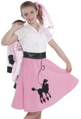 50s Poodle Skirt - Child Standard