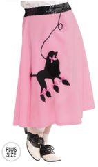 50s Poodle Skirt - Adult Plus