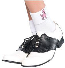 50s Sock Hop Socks - Adult