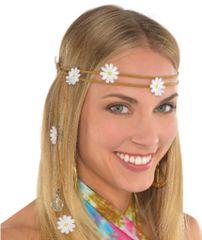 60s Festival Flower Headband