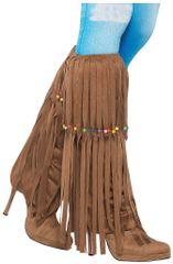 60s Hippie Beaded Leg Warmers - Adult