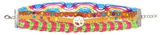 60s Festival Friendship Bracelets