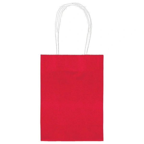 Small Kraft Bag - Red