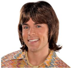 70s Heartthrob Wig