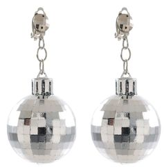 70s Disco Ball Earrings
