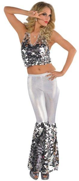 70s Disco Diva Costume - Adult Standard