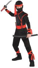 Boys Shadow Ninja Costume - Toddler (3-4), Small (4-6), Medium (8-10)