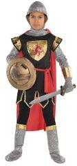 Boys Brave Crusader Costume - Small (4-6), Medium (8-10), Large (12-14)