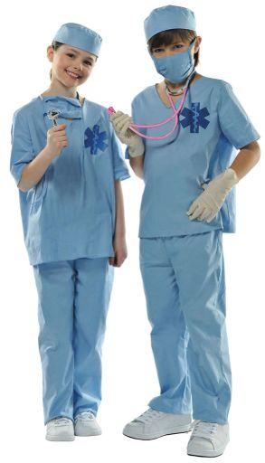 Child Doctor Costume Medium (8-10), Large (12-14)
