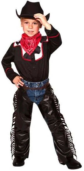 Child Cool Cowboy Costume - Medium (8-10)