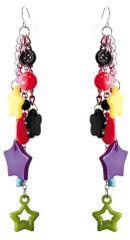 80s Star Dangle Earrings