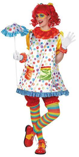 Adult Clown Girl - Standard