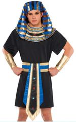 "Adult Mens Egyptian Kit Fits Standard & Plus Size 52"" Chest Max, 5pc"