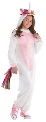 Unicorn Zipster - Girl Small (4-6), Medium (8-10)
