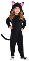 Black Cat Zipster - Small (4-6), Medium (8-10)