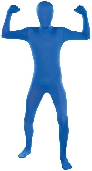 "Teen Blue Partysuit™ - Teen Small (up to 4' 5""), Teen Medium (up to 5')"