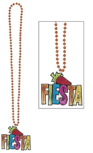 Fiesta Bling Necklace, 36""