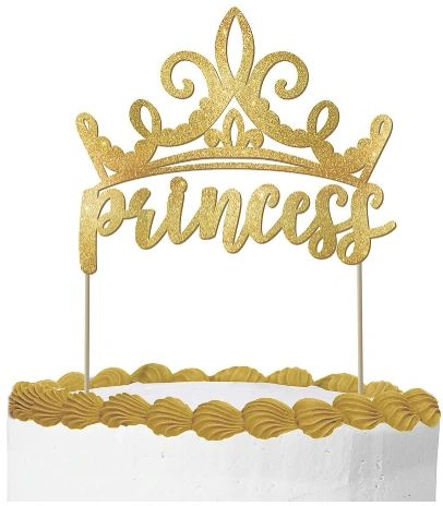 ©Disney Princess Glitter Cake Pick