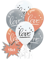 Navy Bride Latex Balloons, 15ct