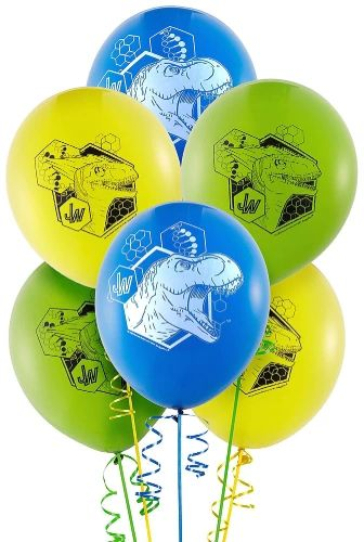 Jurassic World™ Latex Balloons, 6ct