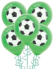 Goal Getter Latex Balloons, 5ct