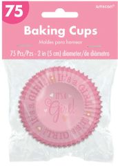 Baby Shower Cupcake Cases - Girl