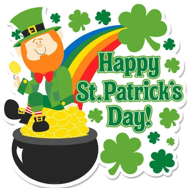 St. Patrick's Leprechaun Cutout